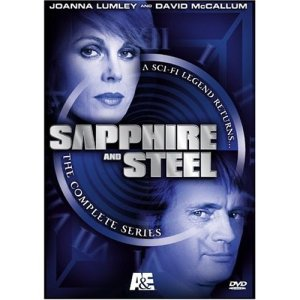 Sapphire and Steel box cover picture