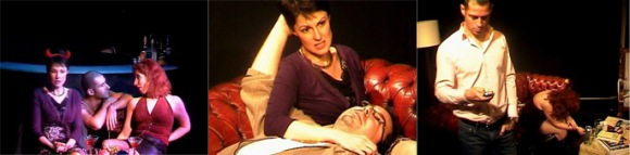 'He Said, She Said', featuring Chris Bell, Emma Jaeger, Cathy McManamon, Andy Pandini, Miles Spencer; dir, Anthony Klein